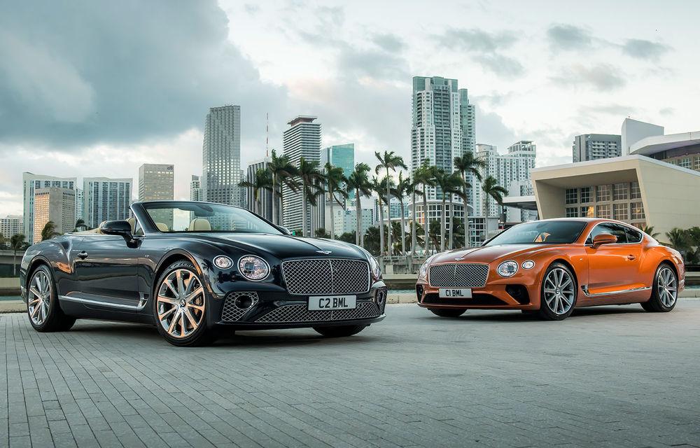 Bentley prezintă noile Continental GT V8 și Continental GT V8 Cabrio: 550 de cai putere și 770 Nm - Poza 1