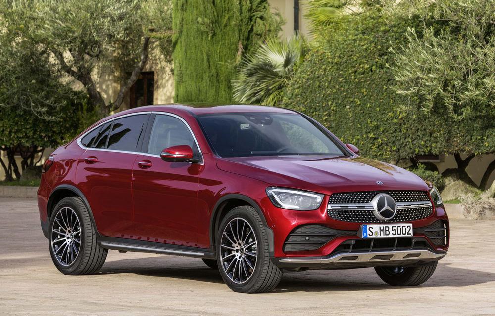Mercedes-Benz GLC Coupe facelift: SUV-ul premium primește modificări estetice minore și o gamă nouă de motoare - Poza 1
