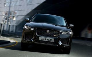Ediții speciale pentru Jaguar F-Pace: SUV-ul britanic poate fi comandat în versiunile 300 Sport și Chequered Flag