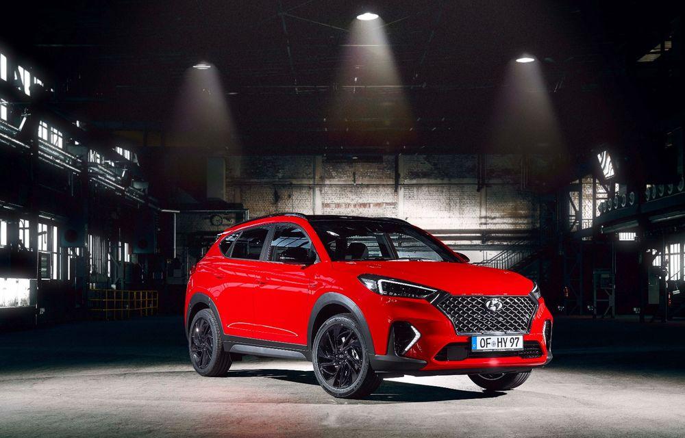 Hyundai prezintă versiunea Tucson N Line: motor diesel de 1.6 litri cu sistem mild-hybrid, aspect sportiv și suspensii mai rigide - Poza 15