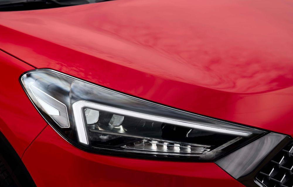 Hyundai prezintă versiunea Tucson N Line: motor diesel de 1.6 litri cu sistem mild-hybrid, aspect sportiv și suspensii mai rigide - Poza 31