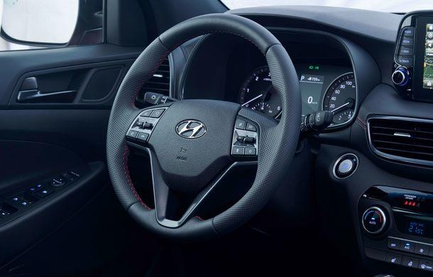 Hyundai prezintă versiunea Tucson N Line: motor diesel de 1.6 litri cu sistem mild-hybrid, aspect sportiv și suspensii mai rigide - Poza 35