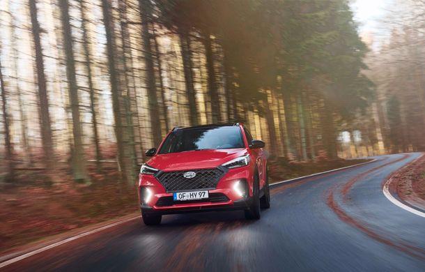 Hyundai prezintă versiunea Tucson N Line: motor diesel de 1.6 litri cu sistem mild-hybrid, aspect sportiv și suspensii mai rigide - Poza 4