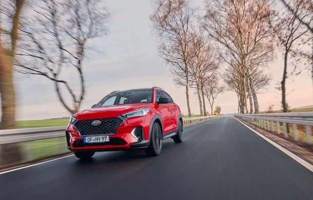 Hyundai prezintă versiunea Tucson N Line: motor diesel de 1.6 litri cu sistem mild-hybrid, aspect sportiv și suspensii mai rigide - Poza 6