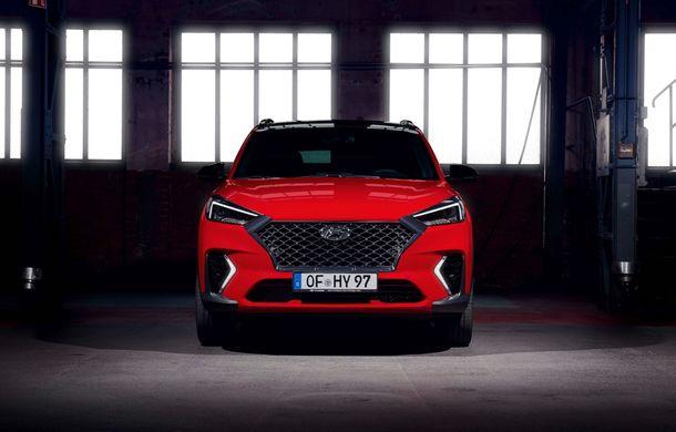 Hyundai prezintă versiunea Tucson N Line: motor diesel de 1.6 litri cu sistem mild-hybrid, aspect sportiv și suspensii mai rigide - Poza 22