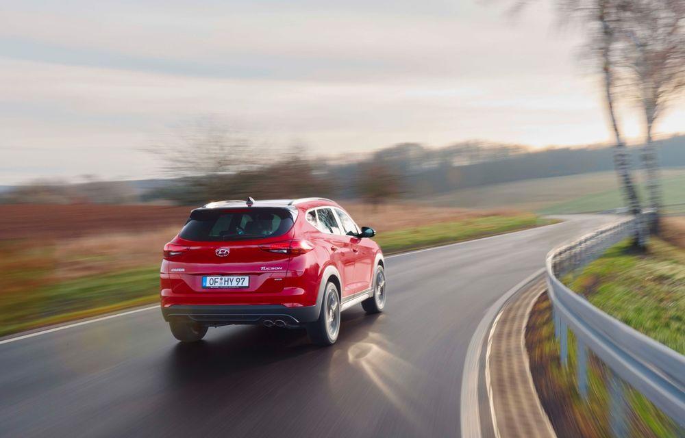 Hyundai prezintă versiunea Tucson N Line: motor diesel de 1.6 litri cu sistem mild-hybrid, aspect sportiv și suspensii mai rigide - Poza 9