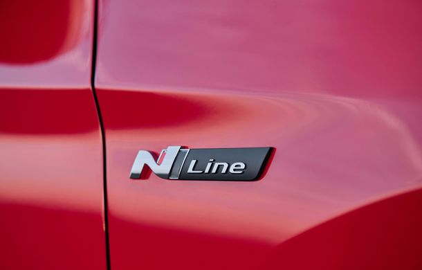 Hyundai prezintă versiunea Tucson N Line: motor diesel de 1.6 litri cu sistem mild-hybrid, aspect sportiv și suspensii mai rigide - Poza 28