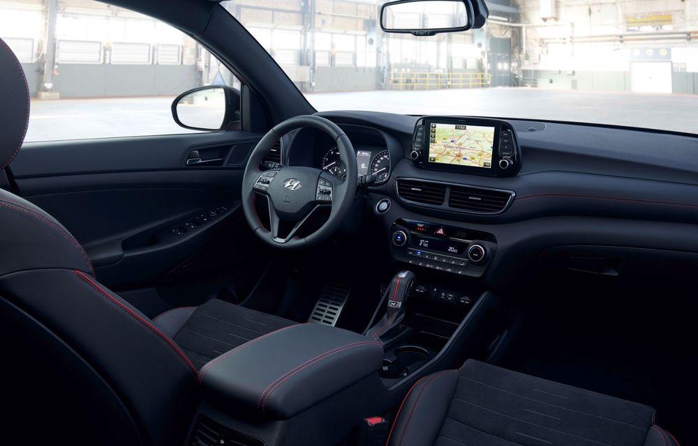 Hyundai prezintă versiunea Tucson N Line: motor diesel de 1.6 litri cu sistem mild-hybrid, aspect sportiv și suspensii mai rigide - Poza 34