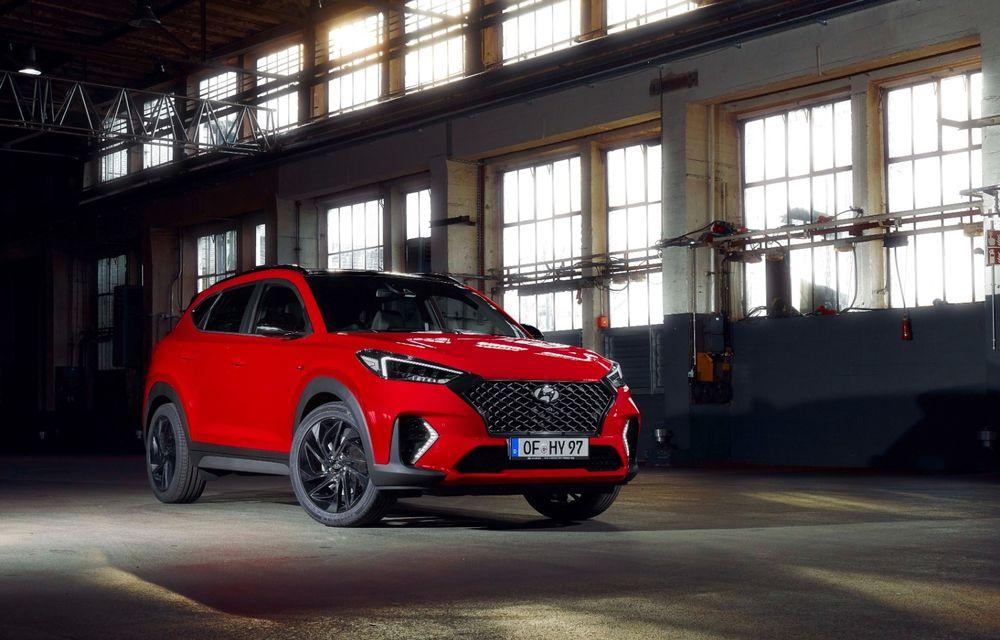 Hyundai prezintă versiunea Tucson N Line: motor diesel de 1.6 litri cu sistem mild-hybrid, aspect sportiv și suspensii mai rigide - Poza 19