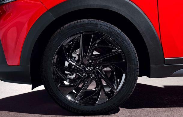 Hyundai prezintă versiunea Tucson N Line: motor diesel de 1.6 litri cu sistem mild-hybrid, aspect sportiv și suspensii mai rigide - Poza 25