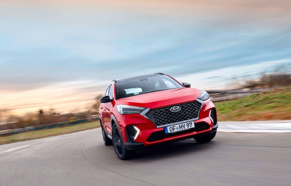 Hyundai prezintă versiunea Tucson N Line: motor diesel de 1.6 litri cu sistem mild-hybrid, aspect sportiv și suspensii mai rigide - Poza 12