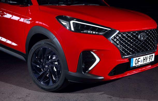 Hyundai prezintă versiunea Tucson N Line: motor diesel de 1.6 litri cu sistem mild-hybrid, aspect sportiv și suspensii mai rigide - Poza 23
