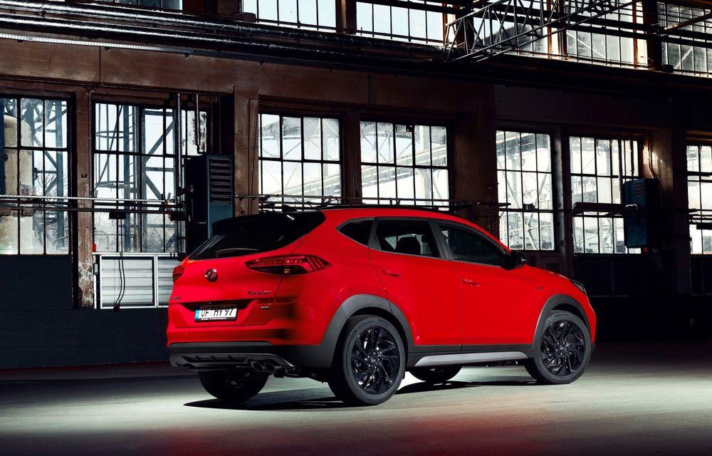 Hyundai prezintă versiunea Tucson N Line: motor diesel de 1.6 litri cu sistem mild-hybrid, aspect sportiv și suspensii mai rigide - Poza 18