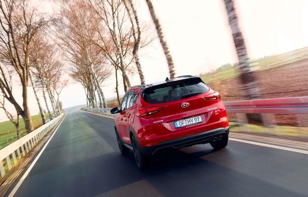 Hyundai prezintă versiunea Tucson N Line: motor diesel de 1.6 litri cu sistem mild-hybrid, aspect sportiv și suspensii mai rigide - Poza 11