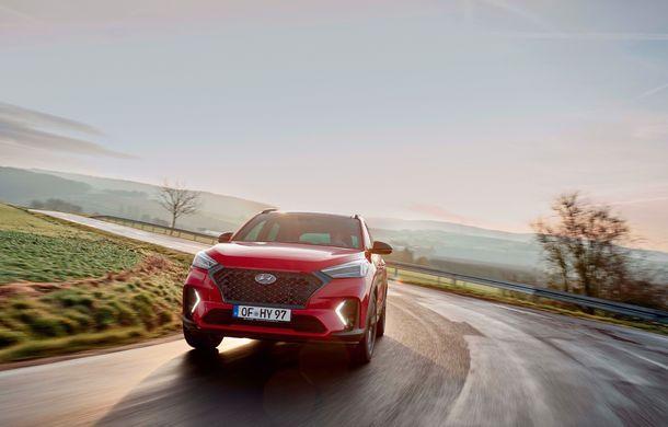 Hyundai prezintă versiunea Tucson N Line: motor diesel de 1.6 litri cu sistem mild-hybrid, aspect sportiv și suspensii mai rigide - Poza 3