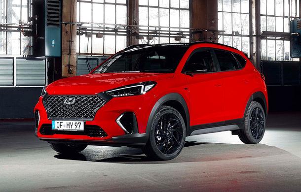 Hyundai prezintă versiunea Tucson N Line: motor diesel de 1.6 litri cu sistem mild-hybrid, aspect sportiv și suspensii mai rigide - Poza 1