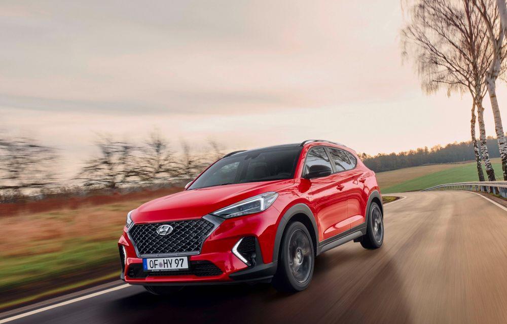 Hyundai prezintă versiunea Tucson N Line: motor diesel de 1.6 litri cu sistem mild-hybrid, aspect sportiv și suspensii mai rigide - Poza 7