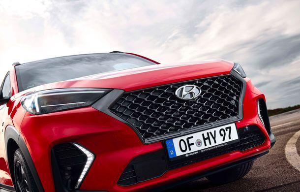 Hyundai prezintă versiunea Tucson N Line: motor diesel de 1.6 litri cu sistem mild-hybrid, aspect sportiv și suspensii mai rigide - Poza 30