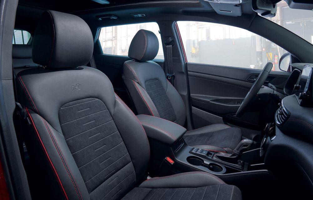 Hyundai prezintă versiunea Tucson N Line: motor diesel de 1.6 litri cu sistem mild-hybrid, aspect sportiv și suspensii mai rigide - Poza 37