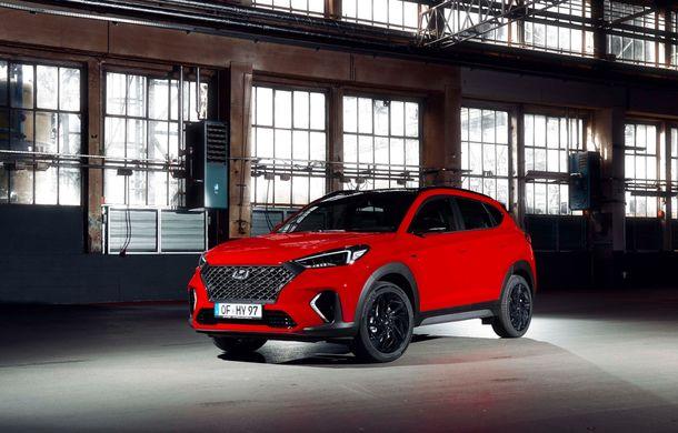 Hyundai prezintă versiunea Tucson N Line: motor diesel de 1.6 litri cu sistem mild-hybrid, aspect sportiv și suspensii mai rigide - Poza 14