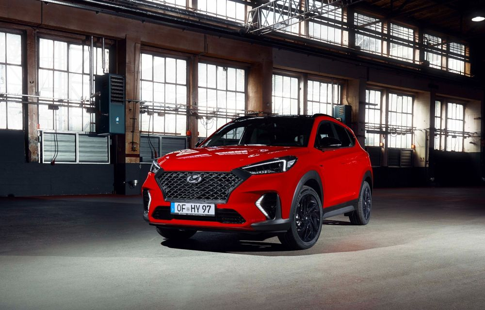 Hyundai prezintă versiunea Tucson N Line: motor diesel de 1.6 litri cu sistem mild-hybrid, aspect sportiv și suspensii mai rigide - Poza 17