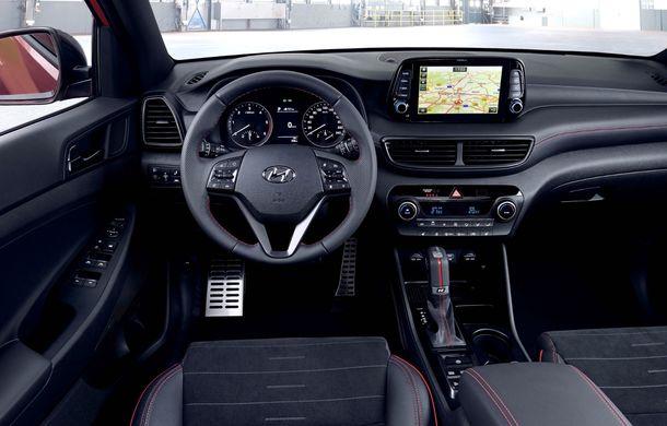 Hyundai prezintă versiunea Tucson N Line: motor diesel de 1.6 litri cu sistem mild-hybrid, aspect sportiv și suspensii mai rigide - Poza 41