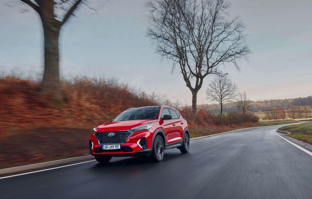 Hyundai prezintă versiunea Tucson N Line: motor diesel de 1.6 litri cu sistem mild-hybrid, aspect sportiv și suspensii mai rigide - Poza 5