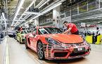 Prime pentru angajații Porsche: aproximativ 25.000 de muncitori vor primi un bonus de 9.700 de euro