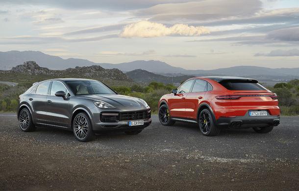 Porsche Cayenne Coupe: noul rival al lui BMW X6 și Mercedes-Benz GLE Coupe are motor V8 de 550 de cai putere - Poza 1
