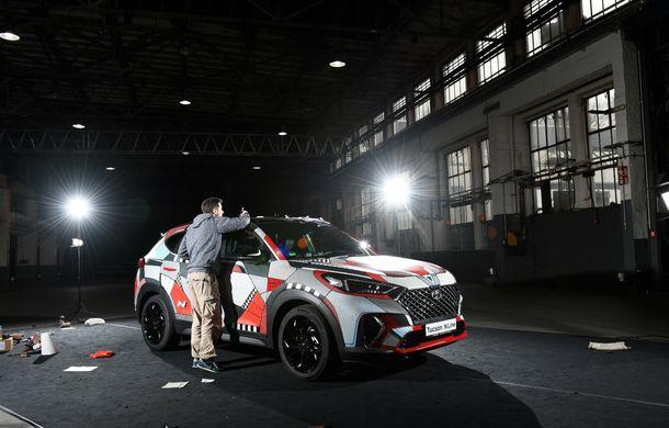 Hyundai promovează noul Tucson N Line într-un mod special: un exemplar a fost transformat în Art Car - Poza 20