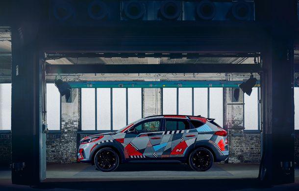 Hyundai promovează noul Tucson N Line într-un mod special: un exemplar a fost transformat în Art Car - Poza 7