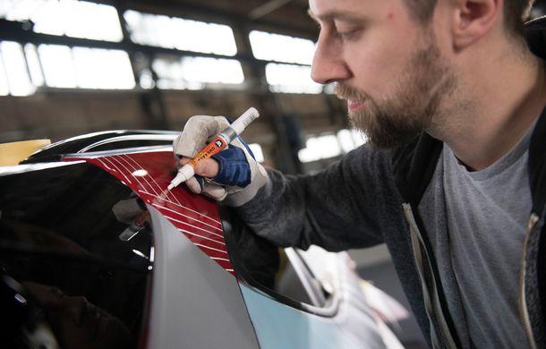 Hyundai promovează noul Tucson N Line într-un mod special: un exemplar a fost transformat în Art Car - Poza 25