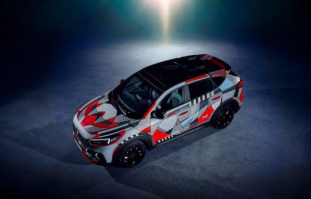 Hyundai promovează noul Tucson N Line într-un mod special: un exemplar a fost transformat în Art Car - Poza 6