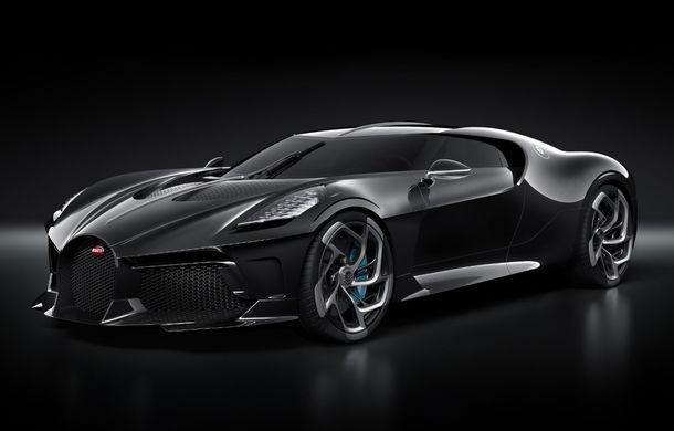 """Bugatti La Voiture Noire: """"La Geneva am expus doar un prototip, mașina finală va fi livrată peste doi ani și jumătate"""" - Poza 1"""