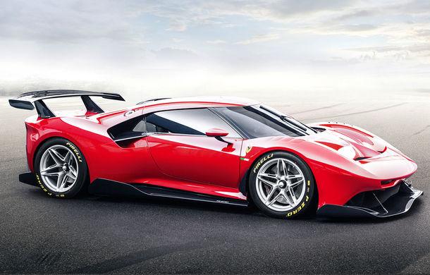 Ferrari a prezentat unicatul P80/C: modelul destinat circuitelor a fost inspirat de legendarele Ferrari 330 P3 și Dino 206 S - Poza 1