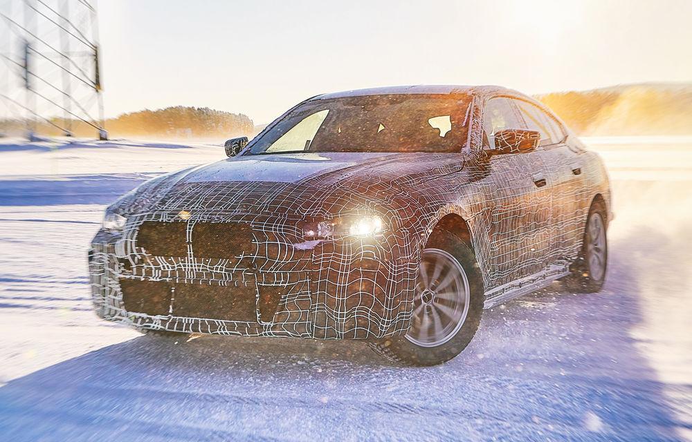 BMW testează prototipurile iX3, i4 și iNext la Cercul Arctic: lansările noilor modele electrice sunt programate în 2020 și 2021 - Poza 6