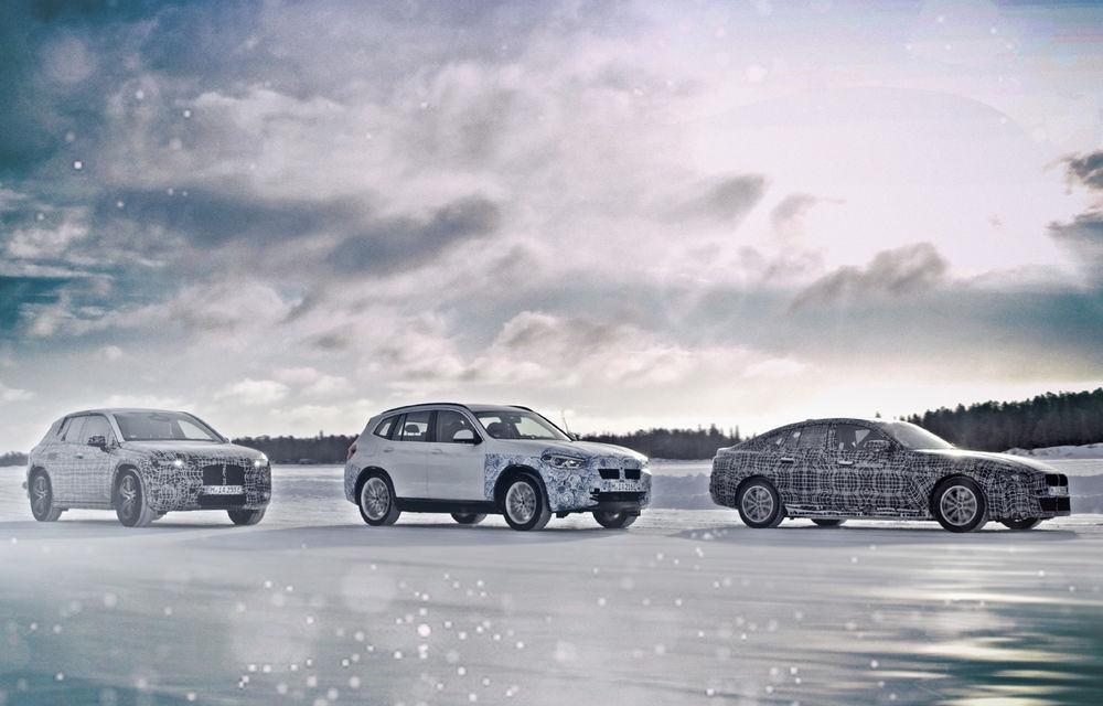 BMW testează prototipurile iX3, i4 și iNext la Cercul Arctic: lansările noilor modele electrice sunt programate în 2020 și 2021 - Poza 1