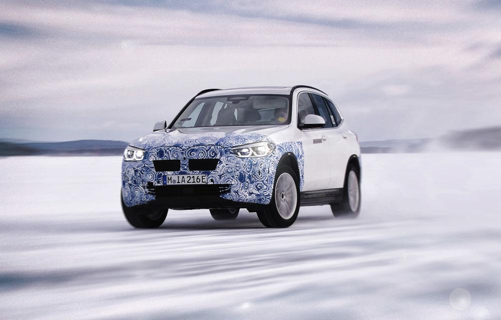 BMW testează prototipurile iX3, i4 și iNext la Cercul Arctic: lansările noilor modele electrice sunt programate în 2020 și 2021 - Poza 2