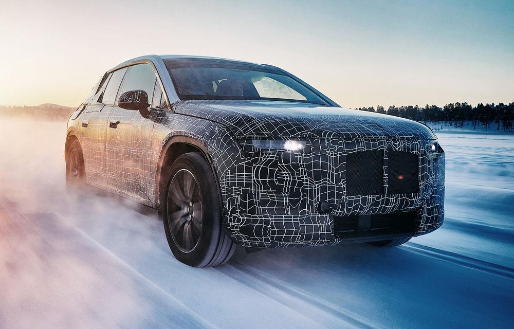 BMW testează prototipurile iX3, i4 și iNext la Cercul Arctic: lansările noilor modele electrice sunt programate în 2020 și 2021 - Poza 4