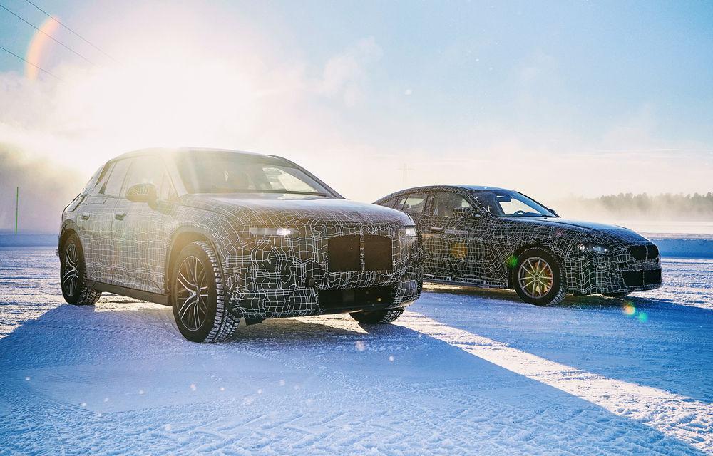 BMW testează prototipurile iX3, i4 și iNext la Cercul Arctic: lansările noilor modele electrice sunt programate în 2020 și 2021 - Poza 3