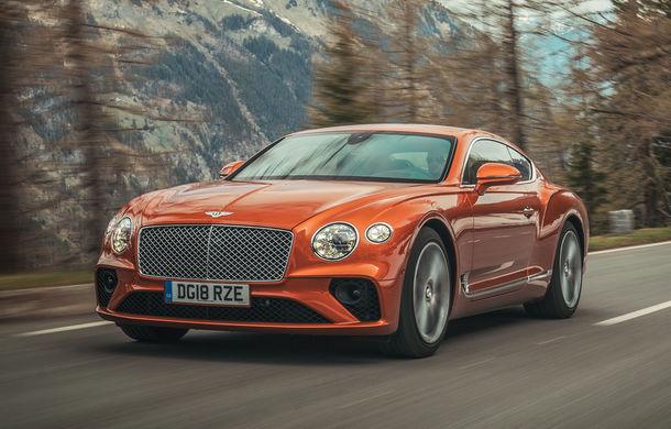 Un Bentley Continental GT va concura în cursa de la Pikes Peak: britanicii vor să stabilească un record pentru mașinile de serie - Poza 1
