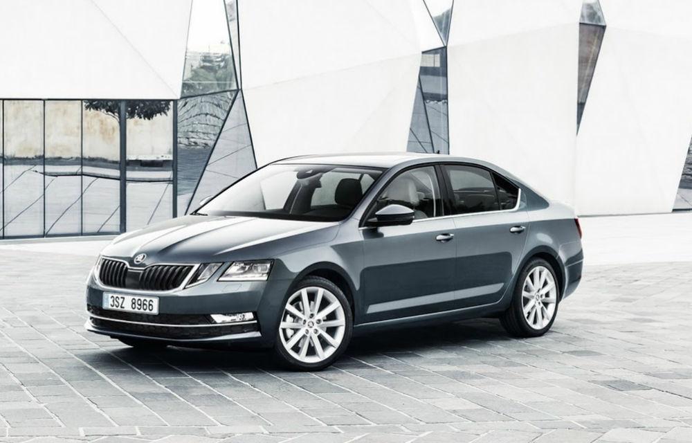 Skoda Octavia suflă în ceafa lui Volkswagen Golf: modelul din Cehia a fost cea mai vândută mașină în patru țări europene în 2018 - Poza 1