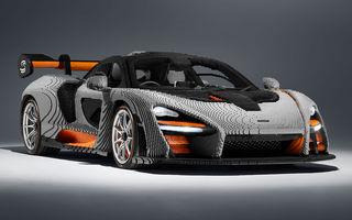 McLaren a dat în mintea copiilor: britanicii au asamblat un exemplar Senna în mărime naturală din piese Lego