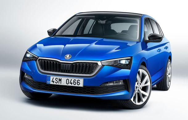 Skoda Scala este disponibil și în România: rivalul lui Volkswagen Golf pleacă de la 15.400 de euro - Poza 1