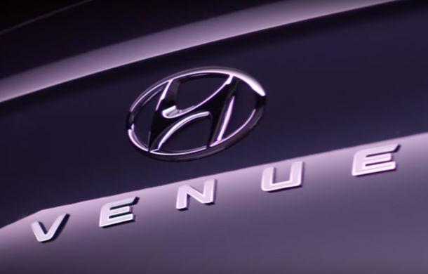 Hyundai va lansa un SUV de oraș în 17 aprilie: Hyundai Venue va fi poziționat sub Kona - Poza 1