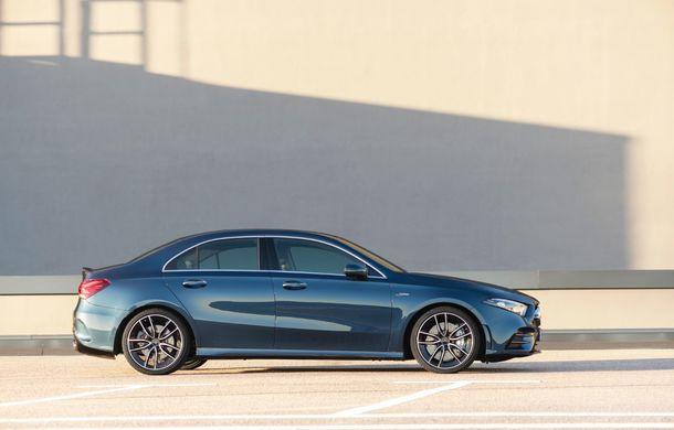 Mercedes a prezentat noul AMG A35 Sedan: 306 CP, tracțiune integrală și 0-100 km/h în 4.8 secunde - Poza 6