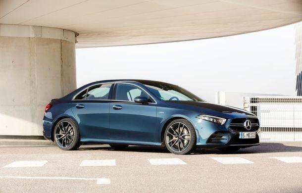 Mercedes a prezentat noul AMG A35 Sedan: 306 CP, tracțiune integrală și 0-100 km/h în 4.8 secunde - Poza 4