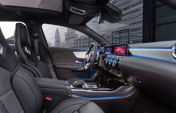 Mercedes a prezentat noul AMG A35 Sedan: 306 CP, tracțiune integrală și 0-100 km/h în 4.8 secunde - Poza 19