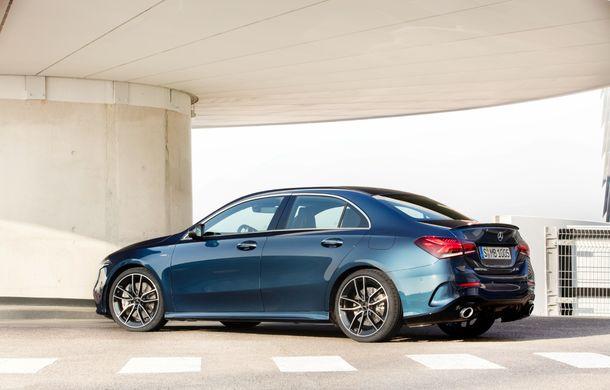 Mercedes a prezentat noul AMG A35 Sedan: 306 CP, tracțiune integrală și 0-100 km/h în 4.8 secunde - Poza 9