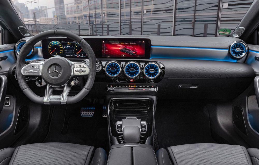 Mercedes a prezentat noul AMG A35 Sedan: 306 CP, tracțiune integrală și 0-100 km/h în 4.8 secunde - Poza 22